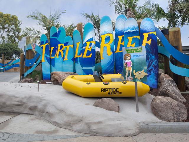 Sea World Turtle Exhibit