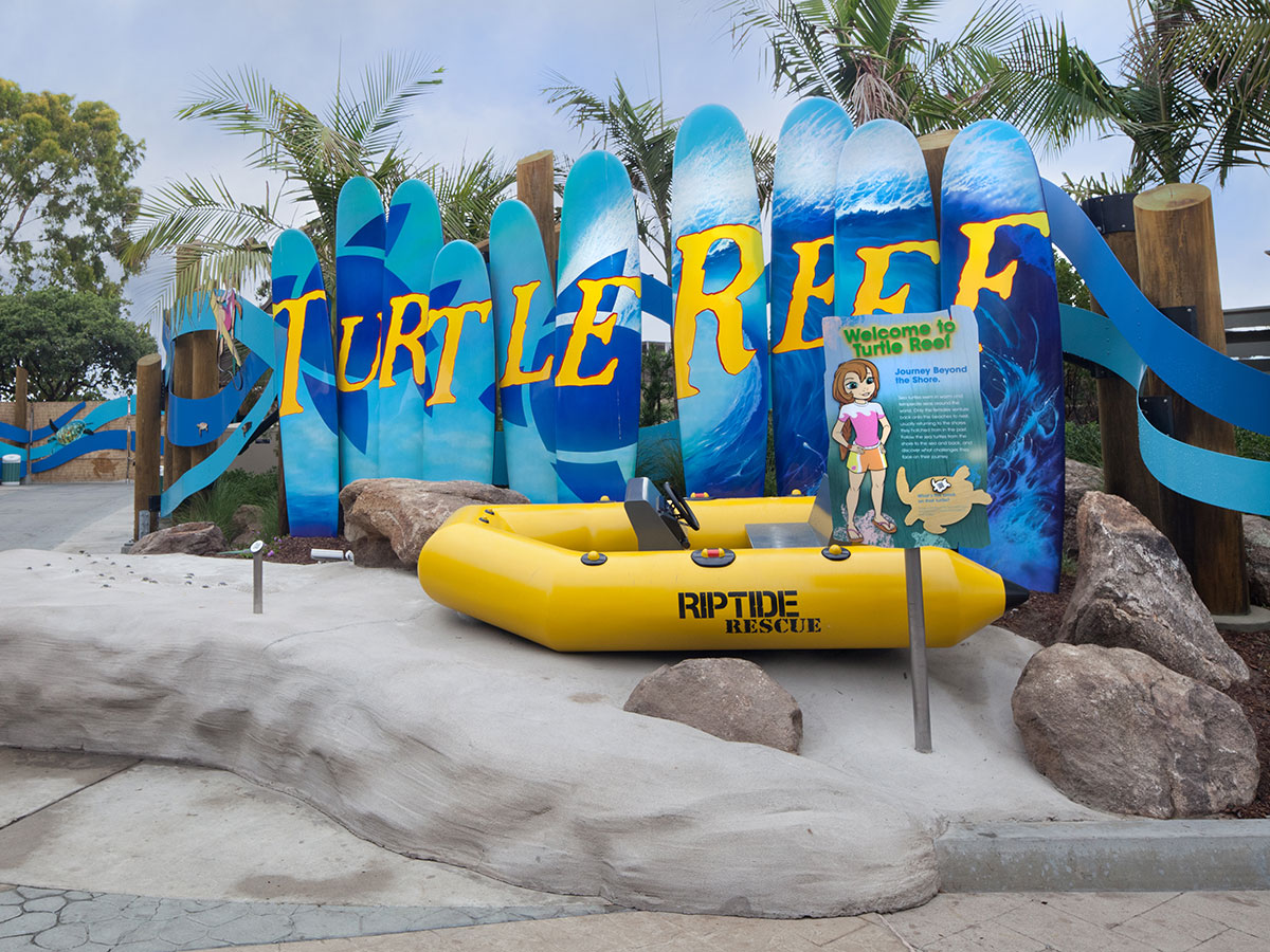 Sea World Turtle Exhibit